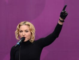Madonna at Sound of Change concert by Chime for Change (5)