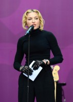 Madonna at Sound of Change concert by Chime for Change - Update (9)