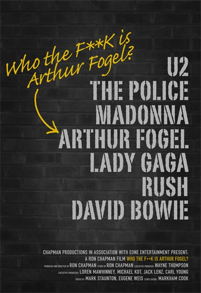 Madonna Who The F**k is Arthur Fogel Poster
