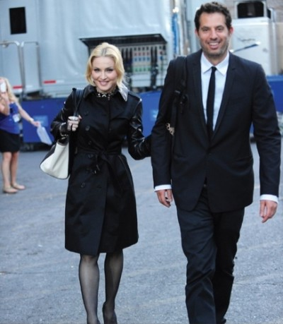Madonna Guy Oseary Backstage Billboard Music Awards