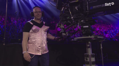 Madonna's Jean Paul Gaultier Corset at tonight's Eurovision Song Contest