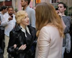 Madonna at Stella McCartney Spring 2014 Collection Presentation (20)