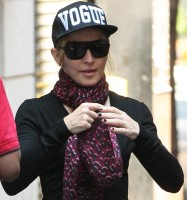 Madonna at the Kabbalah Centre in New York - 3 July 2013 (3)