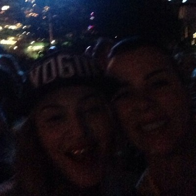 Madonna and Debi Mazar on the 4th of July