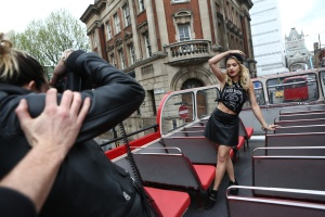 First look at Rita Ora for Material Girl - Madonna and Lola (10)