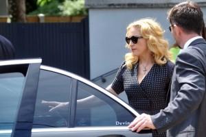 Madonna attends David Collins funeral - Monkstown Ireland - 23 July 2013 (4)