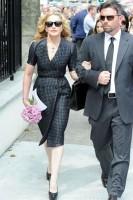 Madonna attends David Collins Funeral - Monkstown Ireland (4)