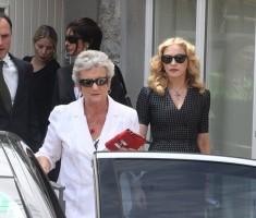 Madonna attends David Collins' funeral in Monkstown Dublin, Irleand - 23 July 2013 - update 1 (6)