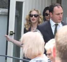Madonna attends David Collins' funeral in Monkstown Dublin, Irleand - 23 July 2013 - update 1 (8)