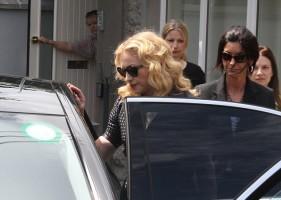 Madonna attends David Collins' funeral in Monkstown Dublin, Irleand - 23 July 2013 - update 1 (9)