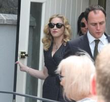 Madonna attends David Collins' funeral in Monkstown Dublin, Irleand - 23 July 2013 - update 1 (10)