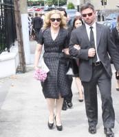 Madonna attends David Collins' funeral in Monkstown Dublin, Irleand - 23 July 2013 - update 1 (11)