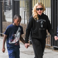 Madonna out and about in London - 27 July 2013 (11)