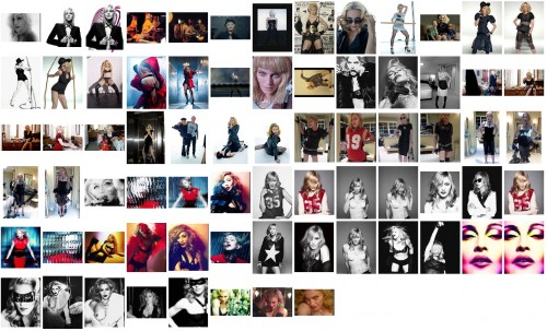 Various Madonna outtakes from 2000 to 2013