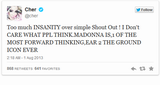 Cher defends Madonna on Twitter 02