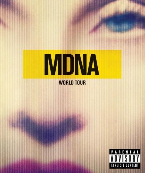Madonna MDNA Tour Cover