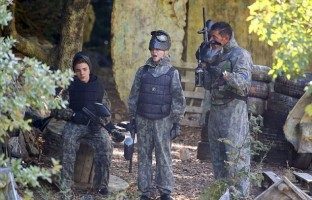 Madonna enjoys paintball game - Rocco birthday - 11 August 2013 (1)