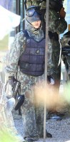 Madonna enjoys paintball game - Rocco birthday - 11 August 2013 (2)