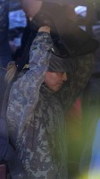 Madonna enjoys paintball game - Rocco birthday - 11 August 2013 (5)