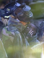 Madonna enjoys paintball game - Rocco birthday - 11 August 2013 (7)