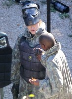Madonna enjoys a game of paintball in the south of France - update (6)