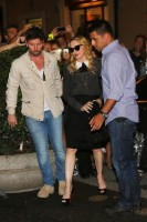 Madonna visits the Hard Candy Fitness Center in Rome - 20 August 2013] (2)