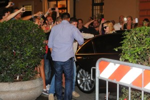Madonna visits the Hard Candy Fitness Center in Rome - 20 August 2013] (6)
