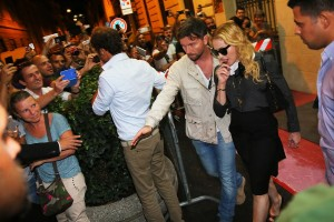 Madonna visits the Hard Candy Fitness Center in Rome - 20 August 2013] (7)