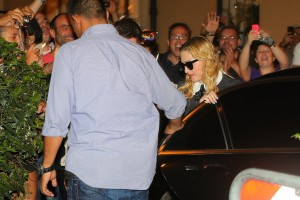 Madonna visits the Hard Candy Fitness Center in Rome - 20 August 2013] (8)