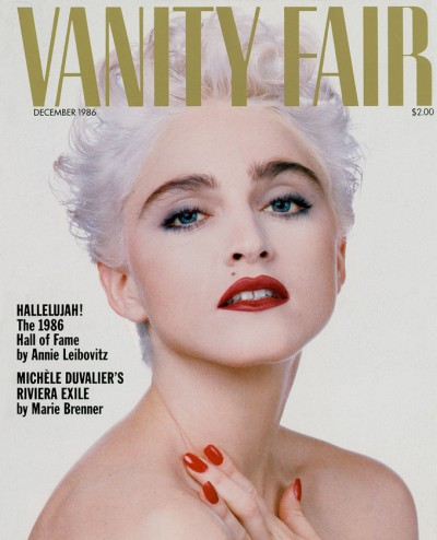 Madonna Vanity Fair 1986 Cover