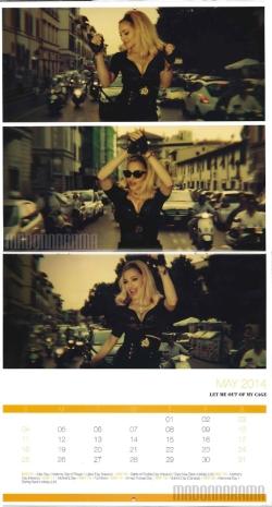 Madonnarama Danilo - Exclusive Deal Madonna 2014 Calendar (1)