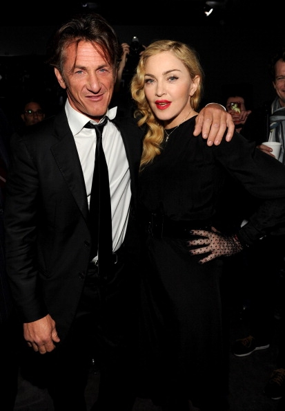 Madonna com Sean Penn Secret Project NY Premiere 2013