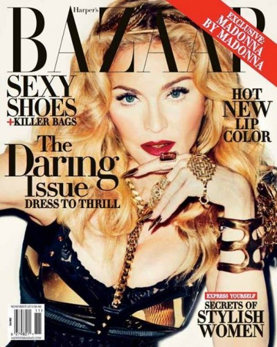 Madonna by Terry Richardson for Harper's Bazaar