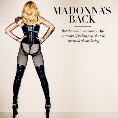 Madonna is back - Harpers Bazaar - November 2013 issue