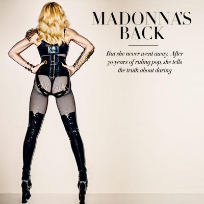 Madonna is back - Harpers Bazaar - November 2013 issue
