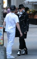 Madonna at the Kabbalah Centre in New York  - 12 October 2013  (4)