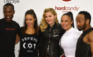 Madonna attends the Hard Candy Fitness Grand Opening in Berlin - 17 October 2013 - Pictures (6)