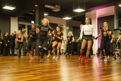 Madonna attends the Hard Candy Fitness Grand Opening in Berlin  - 17 October 2013 - Pictures & Videos - Workout (6)