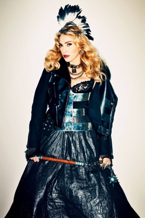 Madonna by Terry Richardson for Harper's Bazaar - November 2013