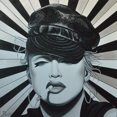 Madonna by Pedno