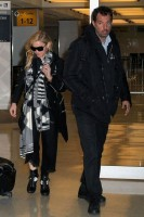 Madonna leaves JFK Airport, New York - 18 November 2013 (6)