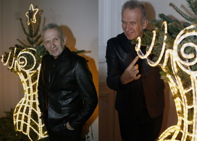 Jean-Paul Gaultier's Cone Bra Christmas Tree