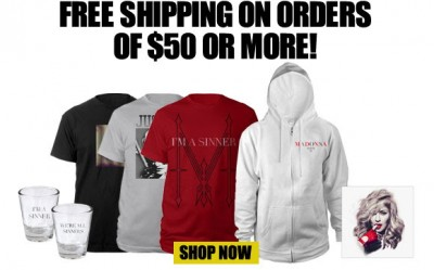 Official Madonna Store Discount