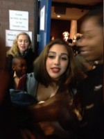 Madonna attends Grease play at LaGuardia High School, New York - 6 Dec 2013 (2)
