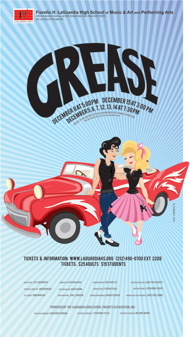 Madonna attends Grease LaGuardia High School Play, New York - Poster 02