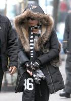 Madonna at the Kabbalah Centre, New York - 21 December 2013 (1)