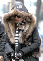 Madonna at the Kabbalah Centre, New York - 21 December 2013 (3)