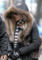 Madonna at the Kabbalah Centre, New York - 21 December 2013 (4)