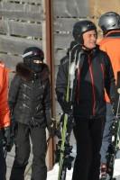 Madonna spotted skiing in Gstaad, Switzerland - December 2013 - Update 1 (1)