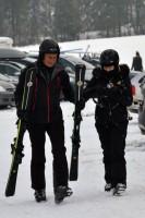 Madonna spotted skiing in Gstaad, Switzerland - December 2013 - Update 1 (2)